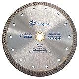 Kingthai 7 inch Stone Cutting Premium Turbo Continuous Rim Diamond...