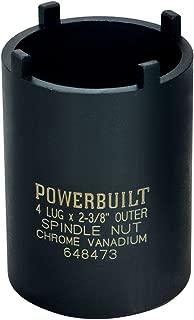 Powerbuilt 648473 Spindle Nut Socket, Four Outer