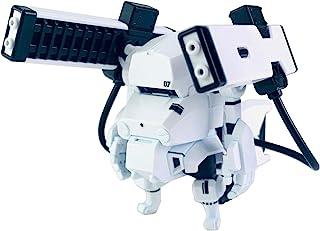 エムアイモルデ キャビコモデルズ チョイプラシリーズ レールガン(ピュアホワイト) なっちん本体セット 全高約50mm プラモデル MIN-011-WB