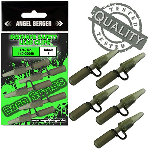 Angel-Berger Carp Series Distance Safety Lead Clips