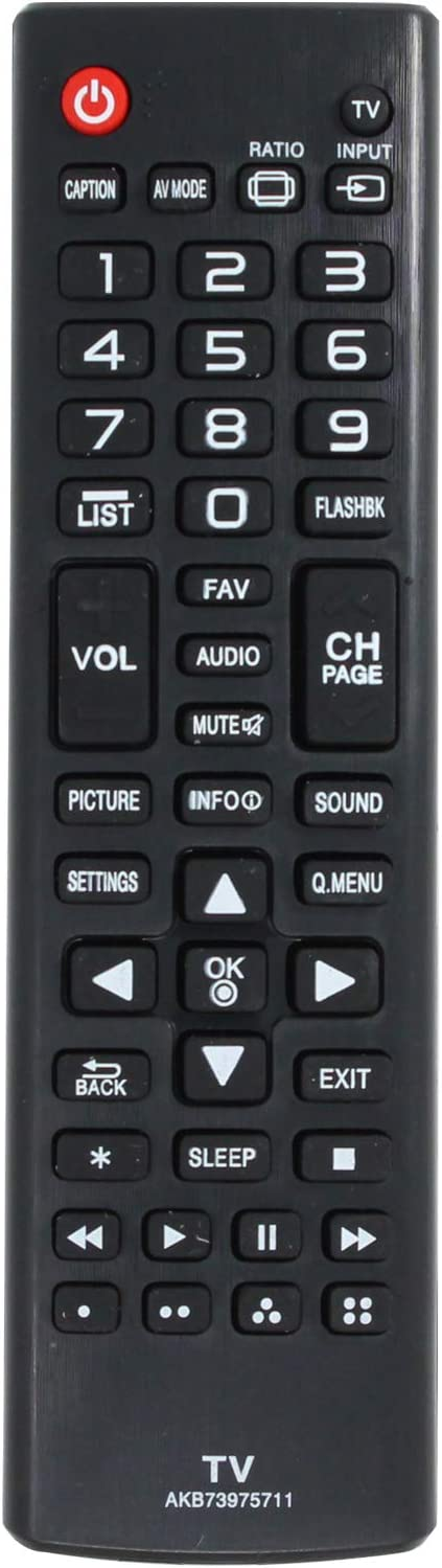 AKB73975711 Safety and trust Remote Control New item Replacement - with LG 32LB Compatible