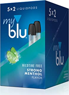 myblu 電子タバコ フレーバーポッド ストロングメンソール リキッド 1カートン(5パック)