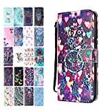 Ancase Leather Phone Case for Samsung Galaxy A7 2018 Flip