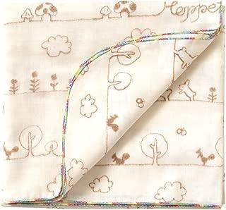 ホッペッタ Hoppetta ポスキィ おおきなダブルガーゼおくるみ 5306