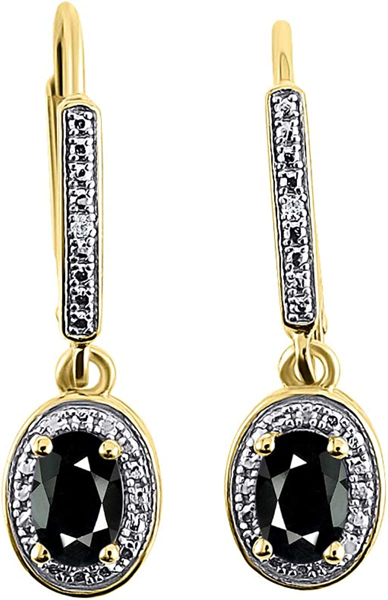 RYLOS Earrings For Women 14K Yellow - Ranking TOP6 Ony Gold Diamond Surprise price Faceted