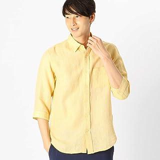 (コムサ イズム) COMME CA ISM 綿麻 パナマメッシュシャツ (七分袖) 47-30IL12-109