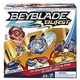 Beyblade Burst - B9498EU60 - Set de Combat pour 2 Joueurs (2 toupies + 2 lanceurs + 1 arène)