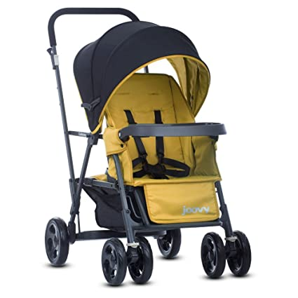 Joovy Caboose Graphite Stroller - Best Convertible Double Stroller