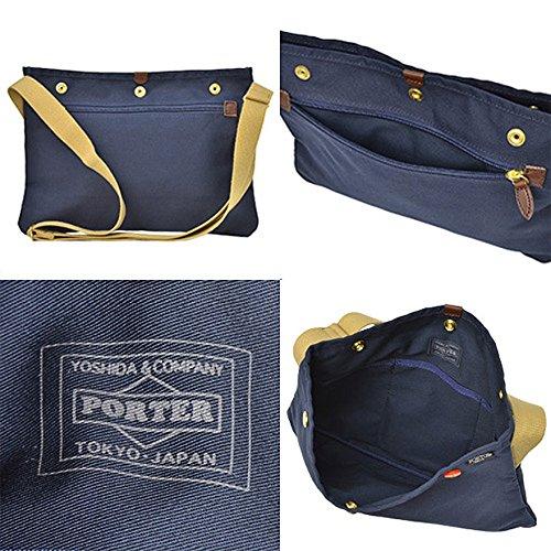 ポーター(porter)・コッピ・サコッシュ(ブラック)