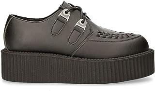 Creepers NEW ROCK Original Zapato Unisex Negro M.CREEPER002-V5