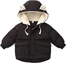 Infant Girl Jacket Autumn Winter Baby Coat Cotton Hooded Warm Outerwear Kids Coat Newborn Jackets
