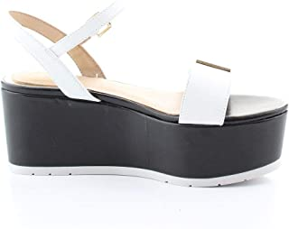 Guess Luxury Fashion Womens FL6TK2LEA04WHITE White Wedges |