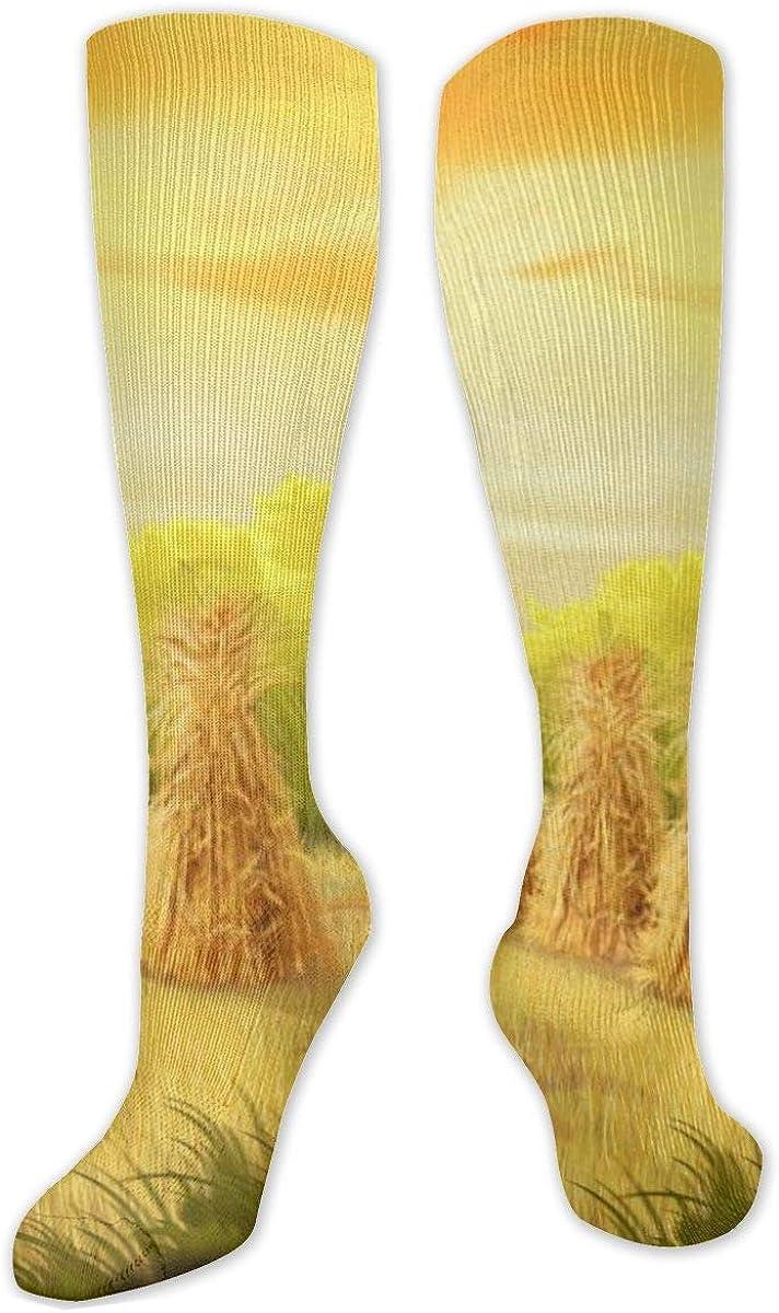 Autumn Corn Knee High Socks Leg Warmer Dresses Long Boot Stockings For Womens Cosplay Daily Wear