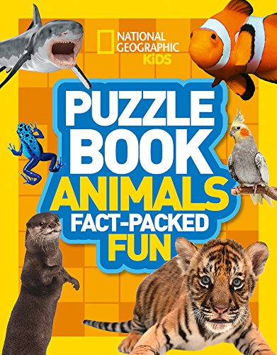 Puzzle Book Animals (National Geographic Kids Puzzle Books)