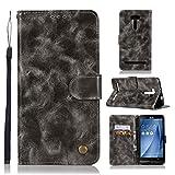 Guran® Housse en Cuir PU pour ASUS ZenFone 2 Laser ZE500KL (5pouces) Smartphone Flip Cover...