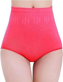 Ausexy Sexy Women High Waist Tummy Control Body Shaper Briefs Slimming Pants Elastic Comfy Stretch Underwear Comfort Breathable Underwear