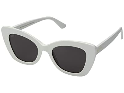 DIFF Eyewear Raven (White/Grey) Fashion Sunglasses