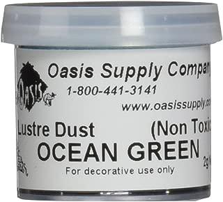 Luster Dusts Cake DP-24 Decorating Dust, Teal Ocean Green, 2 Gram