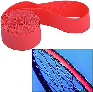Borde de Bicicleta Cinta Tape Rim, 4PCS / Set Neumático del neumático del neumático Tubo Interno Protector del neumático Tiras del Borde Cinta del Borde del neumático de la llanta