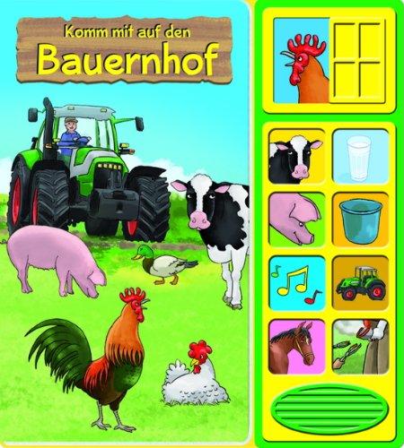 Geräuschebuch Komm mit auf den Bauernhof