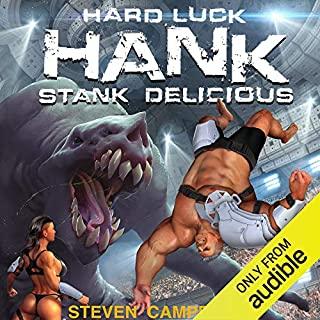 Hard Luck Hank: Stank Delicious, Book 5 audiobook cover art