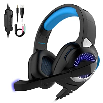 Gaming Headset Xbox One Headset with 7.1 Surrou...