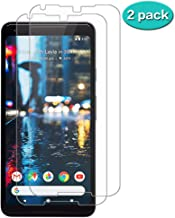 Google Pixel 2XL Screen Protector, [2 Pack][Case Friendly][Anti-Glare][Bubble-Free][Anti-Scratch][HD-Clear][9H Hardness] Tempered Glass, Compatible with MMDLDD Pixel 2 XL Film Clear