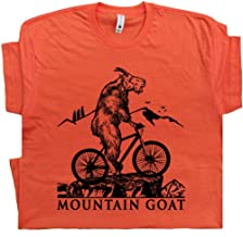 Mountain Biking T Shirt Trail Dirt Bike Tee Moab Utah Colorado Oregon Off Road Gift for Goat Riding Graphic Design
