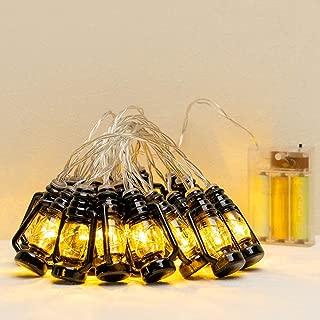 TopWan 20-Lights Lantern-Mini Kerosene String for Festival Christmas Halloween Party Wedding Decoration