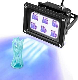 Sovol 6W Quick Drying UV Resin Curing Light for SLA DLP 3D Printer UV Resin Fast Curing Light DIY Curing Enclosue,Black