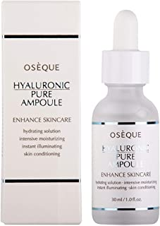 Hyaluronic Acid Face Serum(1.0 fl.oz / 30ml)-100%Pure -Organic Anti Aging Wrinkle Reduce & Skin Hydration M...