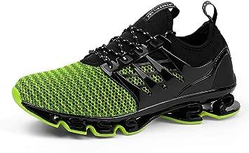 WateLves Herren Laufschuhe Fitness straßenlaufschuhe Sneaker Sportschuhe atmungsaktiv rutschfeste Mode Freizeitschuhe