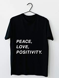 logic peace love and positivity shirt