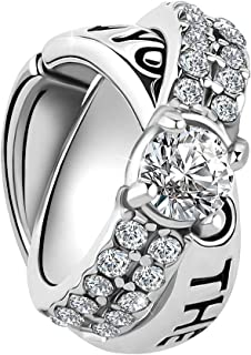 Best i love you charm ring Reviews