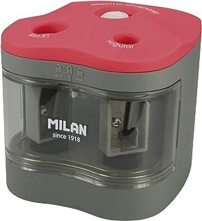 MILAN BWM10278 - Sacapuntas Power Sharp, Blanco, 7 x 6.5 cm