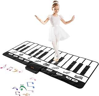 "M SANMERSEN Kids Piano Mat, 70.47"" x 28.34"" Keyboard Pla"