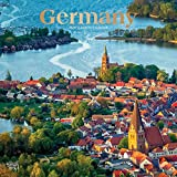 Germany 2020 12 x 12 Inch Monthly Square Wall Calendar with Foil Stamped Cover, Scenic Travel Europe German