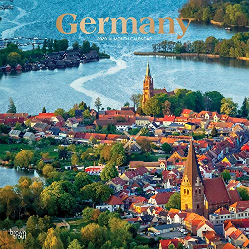 Germany 2020 12 x 12 Inch Monthly Square Wall Calendar with Foil Stamped