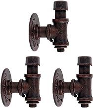 KSS Crochets en forme de tuyaux Style industriel (matériel de montage inclus)