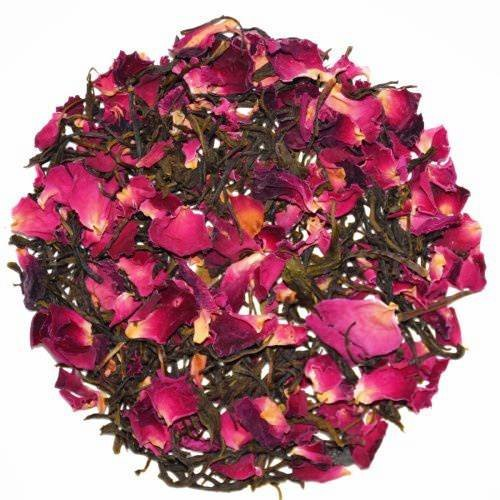 Rose Green Herbal Tea For Weight Loss