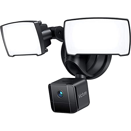 Zeus CCTV WiFi Floodlight Bulb Camera Home Security System Wireless Outdoor Waterproof Remote Control Camera Night Vision 1080p E26 LED Floodlight Cam 16GB, Single Camera Model