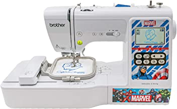 Brother Sewing and Embroidery Machine, 4 Marvel Faceplates, 10 Downloadable Marvel..