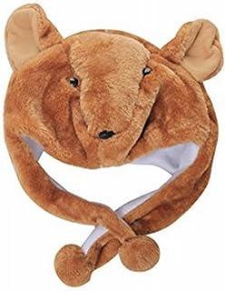 Animal Plush Earmuff Winter Warm Fluffy Cap 3