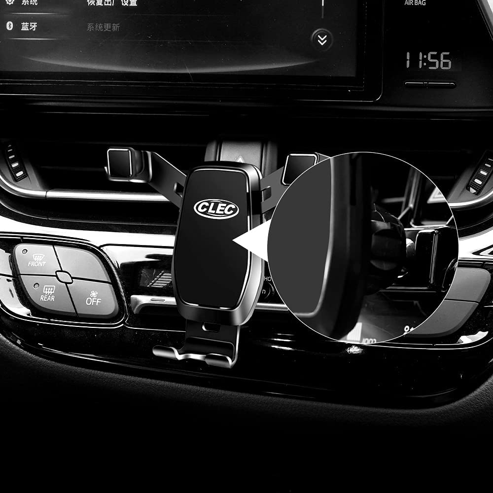 Being Up Car Phone Holder,Fit for Toyota CHR 2018-2021 Adjustable Gravity Navigation for Air Vent Cellphone Mount Compitable with Almost 4-7 Inches Smartphones,Black