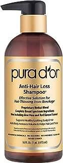 PURA D'OR Shampoo for Hair Loss - 473 ml
