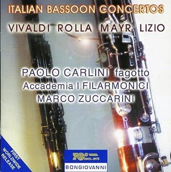 Italian Bassoon Concertos
