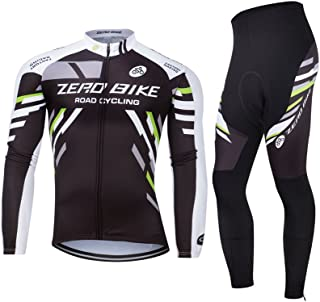 ZEROBIKE Men's Breathable Long Sleeve Cycling Jersey Fast Drying Mesh Cycling Cloting Road Mountain Biking Breathable Vest