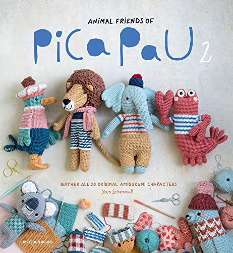 Animal Friends of Pica Pau 2: Gather All 20 Original Amigurumi Characters (idioma en Inglés)
