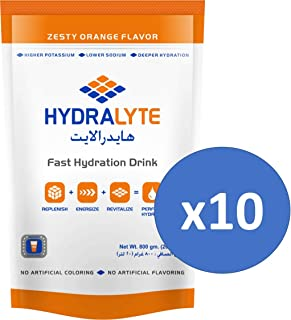 Hydralyte Electrolyte Powder Sports Drink Mix, 80 Servings Per 800g Container (250ml), Natural Electrolyte Replacement Sup...