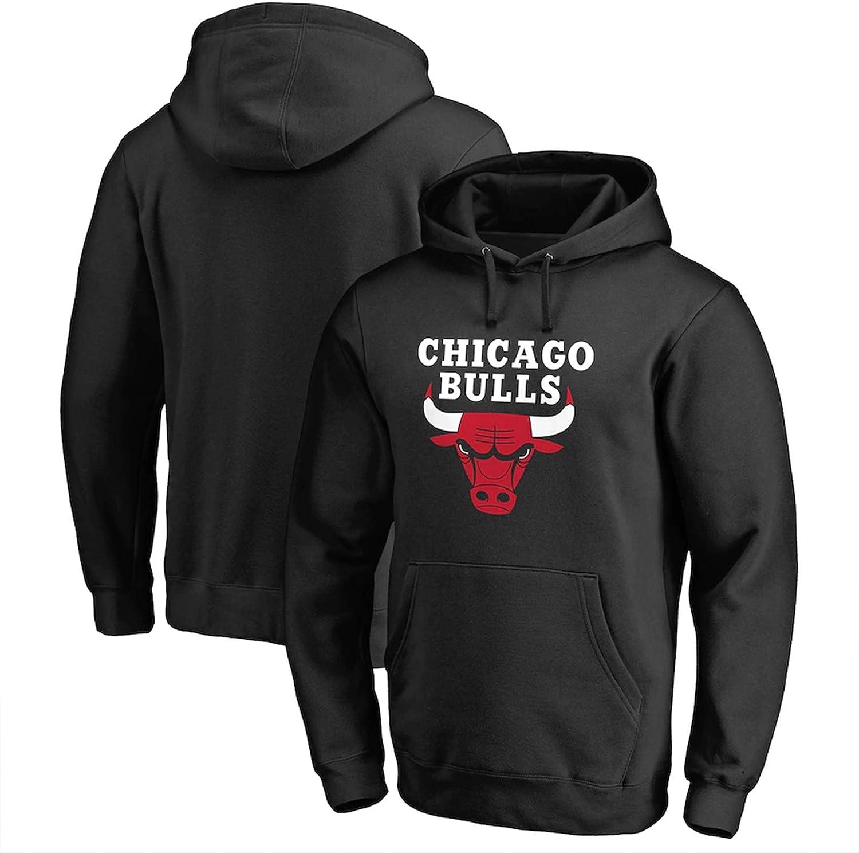 Chicago Bulls De Michael Jordan # 23 Baloncesto Pullover Sudadera con Capucha Jersey Suelta La Camiseta De Hip Hop Camiseta De Entrenamiento De Manga Larga De Baloncesto Unisex